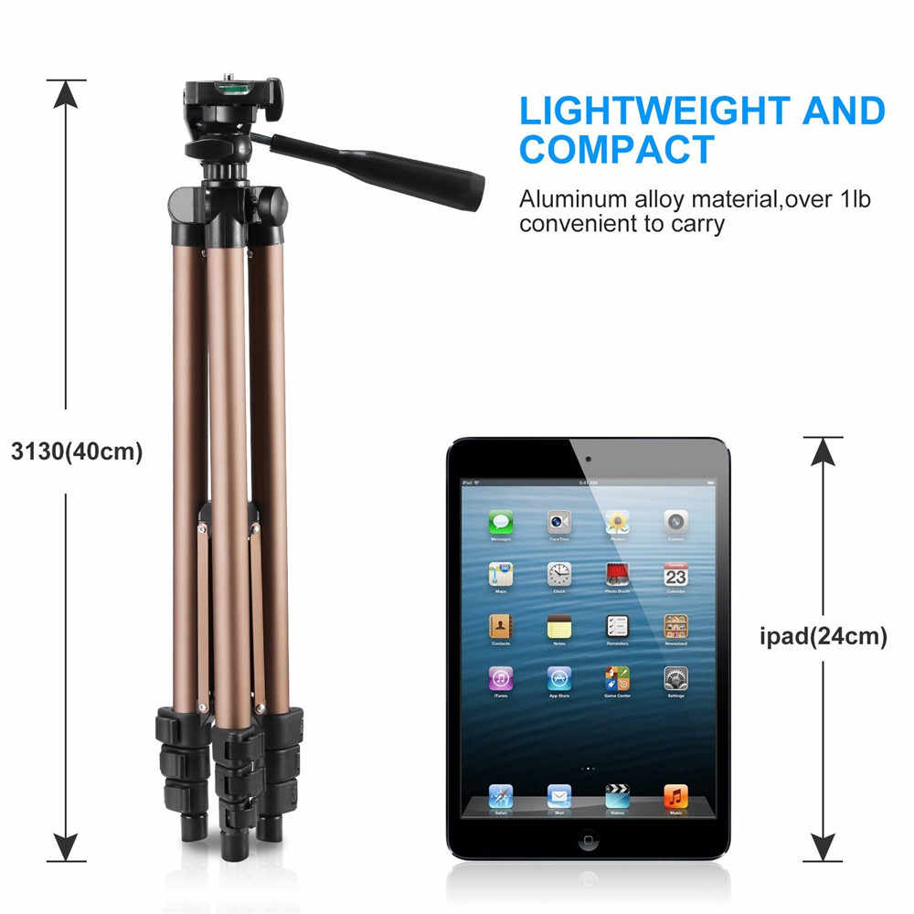 Duragadget125cm Trípode para Sony NEX-5T//RX100//DSC-RX100M2