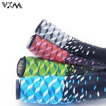 VXM 3 kolory taśma na kierownicę roweru gwiazda znikną rower wyścigowy taśma na kierownicę kolarstwo szosowe wodoodporna taśma EVA Wrap tanie i dobre opinie VXM86 Cycling Bicycle Bike Handlebar Tape Bar Tape 2250mm*30mm*3mm white red green blue 58 grams