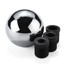 Universal M8 M10 M12 Schwere Gewichteten Chrom Runden Ball Manuelle Verschiebung Shifter Getriebe