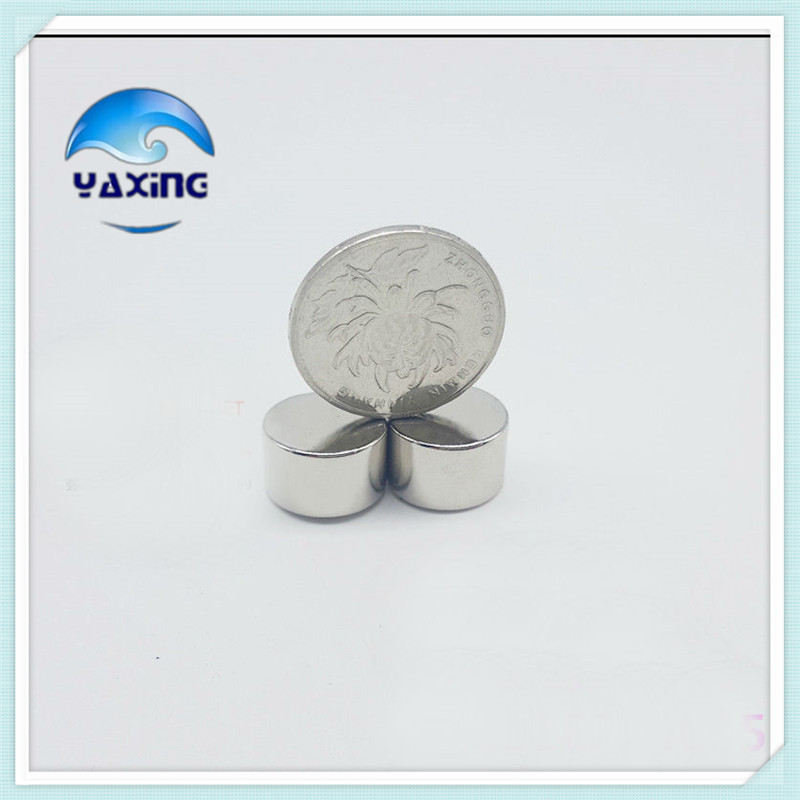 50pcs small round neodym magnet Dia 10mm X 10mm Strong