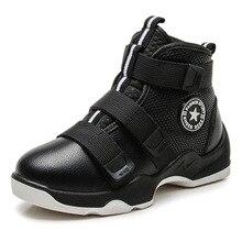 Sonbahar kış erkek botları çocuk ayakkabı çocuklar Sneakers moda deri çizmeler için peluş sıcak düz yarım çizmeler erkek koşu ayakkabıları