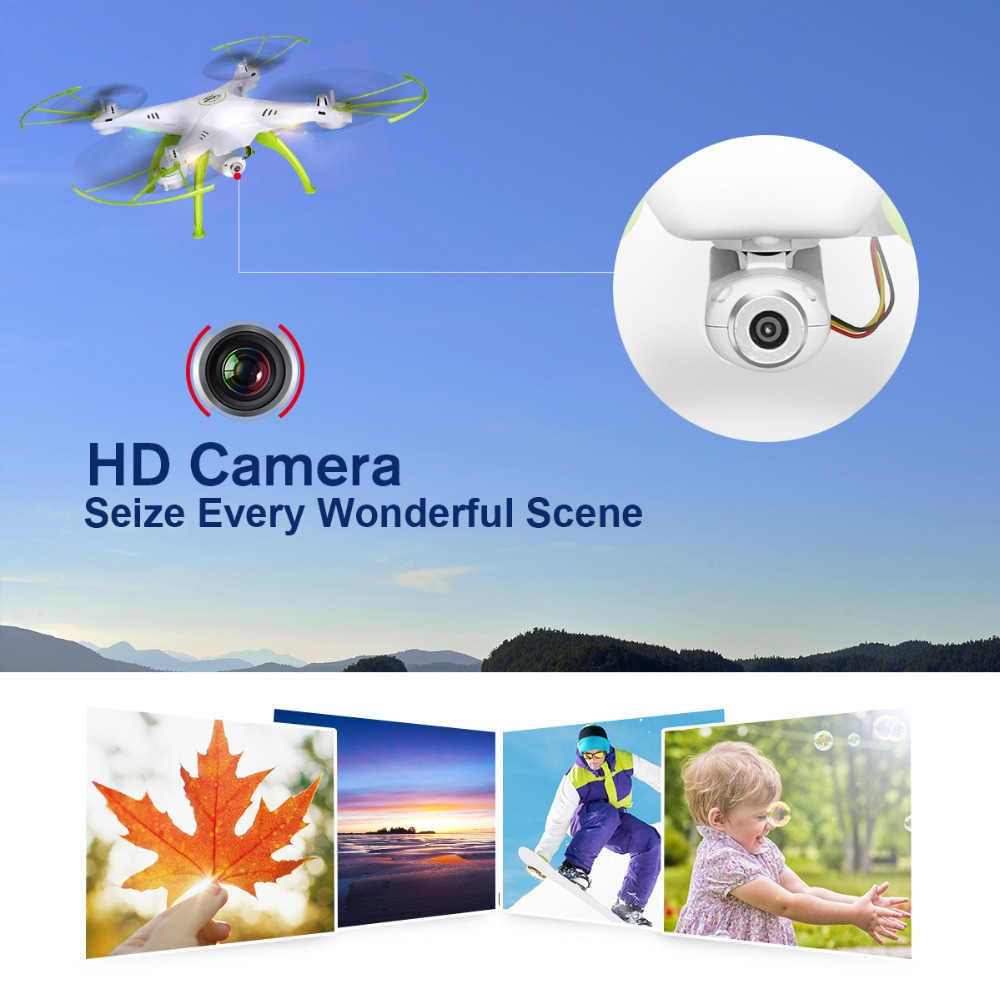 SYMA X5HW Drone With Camera HD Wifi FPV Selfie Drone Drones Quadrocopter RC Helicopter Quadcopter RC Dron Toy (X5SW Upgrade) 2