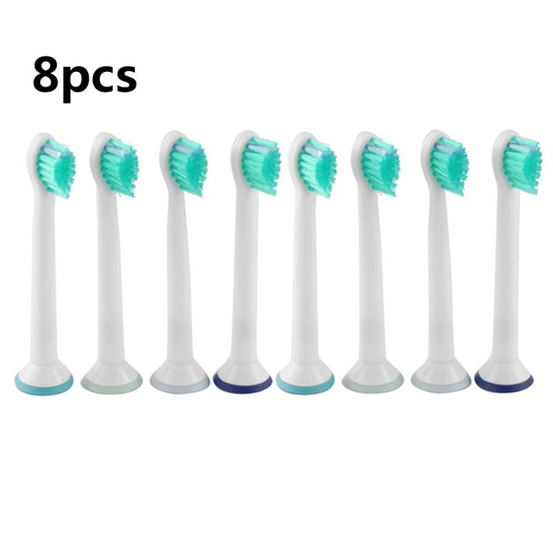 8Pcs/set Replacement Electric Toothbrush Heads Fits for Philips/Sonicare HX6024 Replacement Brush Heads Dropshipping image