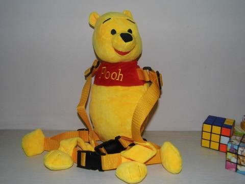 Приятель для того, чтобы держать 2-в-1 Детские накладной Рюкзак Детские поводья для От 1 до 3 лет вокруг - Цвет: Yellow whinny
