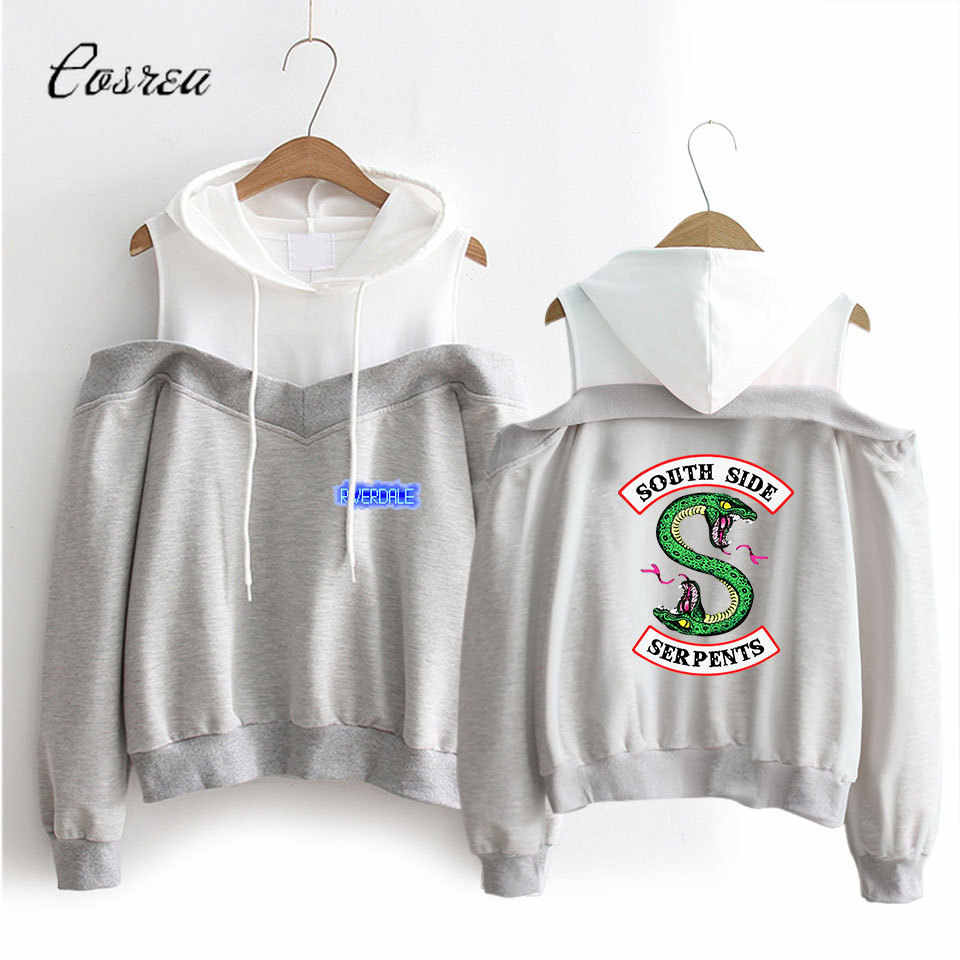 South Side Serpents Riverdale Sweatshirt Hoody Men Long Sleeves Top Women Coat Hoodies Sweatshirt Riverdale Southside Pullover