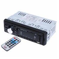 Auto Radio Samochodowe Stereo Audio MP3 Player 12 V In-dash Single 1 Din Autoradio Odbiornik FM Wsparcia Aux/USB/SD/MMC Pilot