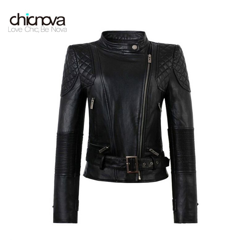 pu   leather   jacket women zipper faux   leather   plus size 4XL motorcycle biker jaquetas casacos de couro feminine FS0191