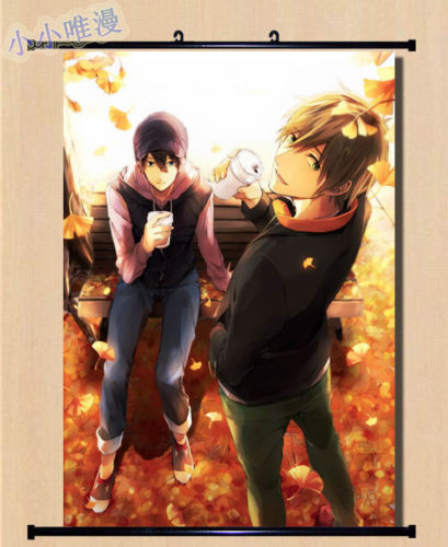 Free! anime Wall Scroll cosplay magan Home Decor Poster