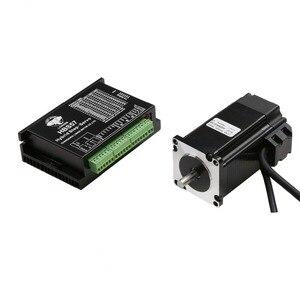 Image 1 - Бесплатная доставка ЕС, шаговый двигатель с замкнутым контуром NEMA34, 170 мм, 12 нм, 1700 унций, на 6A, 1000 линейный кодировщик, кабель 3 м и сервопривод HBS86H