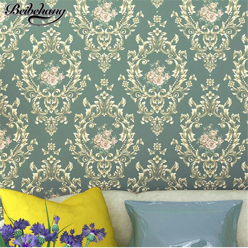 beibehang European Wallpapers Bedroom Living Room TV Background Walls Stereo Relief Pastoral Nonwovens Wallpaper Papel de parede beibehang european nonwovens wallpaper bedroom living room tv background wallpapers 3d relief three dimensional wallpaper