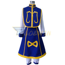 цены на Anime HUNTER x HUNTER Kurapika Cosplay Costume Custom Made Any Size  в интернет-магазинах