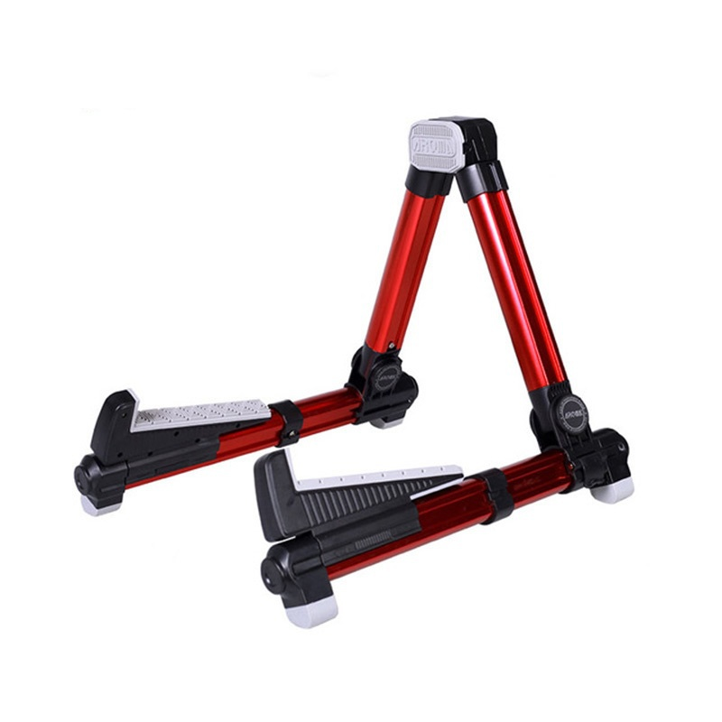 ergonomic a frame ukulele stand ukulele acoustic violin banjolele aus 08 red new in guitar parts. Black Bedroom Furniture Sets. Home Design Ideas