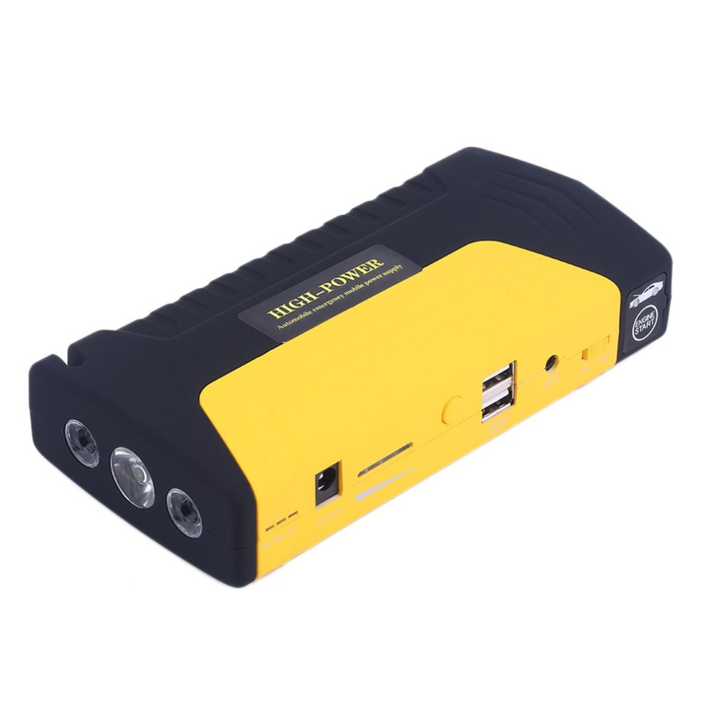 Portable 68800mah USB  Auto Engine Car Jump Starter Emergency Charger Booster Power Bank Battery With Air Pump Set
