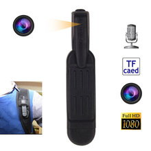 T189 Mini Camera Full HD 1080P Secret Wearable Small Pen DVR Digital DV Espia Support 64GB Card