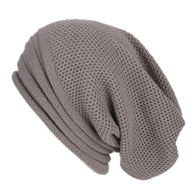 Men Women Baggy Warm Crochet Winter Wool Knit Ski Beanie Skull Slouchy Caps Hat HOT Sales Unisex winter hat Fashion Accessories