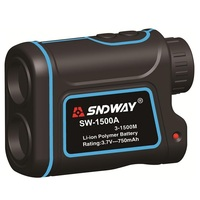 New Brand SNDWAY 1500m Digital Laser Distance Meter Telescope Golf Hunting Rangefinder Range Finder Monocular 7X