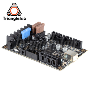 Image 4 - Trianglelab placa base para impresora 3D Einsy Rambo 1.1b, para Prusa i3 MK3 MK3S, controladores paso a paso TMC2130, 4 salidas conmutadas Mosfet