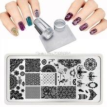 12X6cm 20 Style Lace Patterns Grid