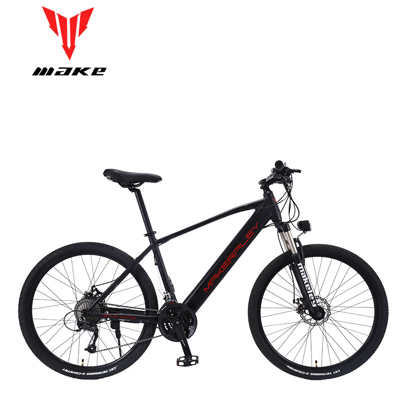 Make electric bike bicycle 350W aluminum frame 27.5 inch wheels 27 speed SHIMAN0 ALТUS