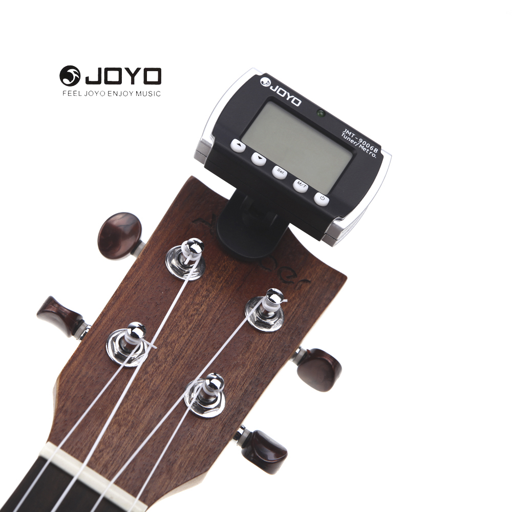 JOYO Mini Clip on Tuning LCD Screen Digital Tuner For Chromatic Guitar Bass Violin Musical Instruments