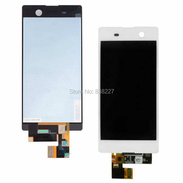 "LCD display For Sony Xperia M5 Dual E5633 E5643 E5663 (5.00"") LCD touch Display Screen Digitizer replacement panel in stock"