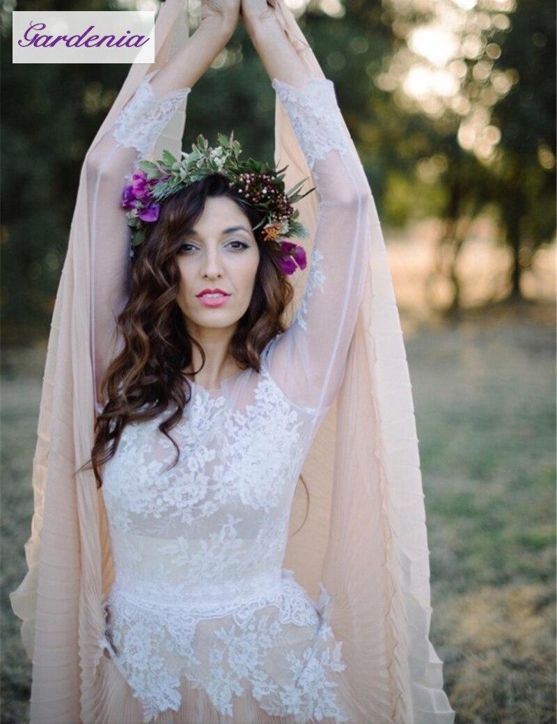 v neckline sleeveless elegant chiffon lace summer wedding dress lace flowy wedding dress elegant chiffon lace summer wedding dress v neckline sleeveless