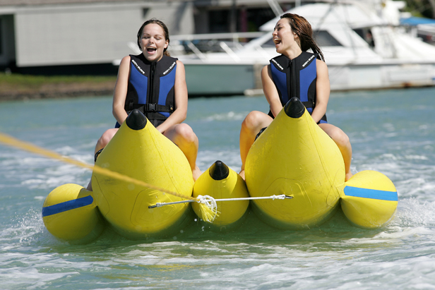 Hot selling inflatable banana boat/ flying fish boat