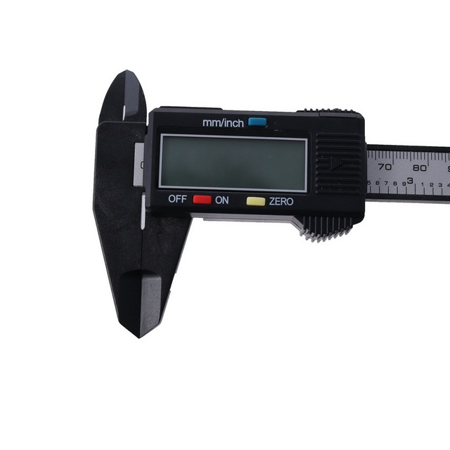 Digital Caliper 6 inch Carbon Fiber Vernier Caliper Gauge Micrometer Measuring Tool Digital Ruler 150mm Electronic