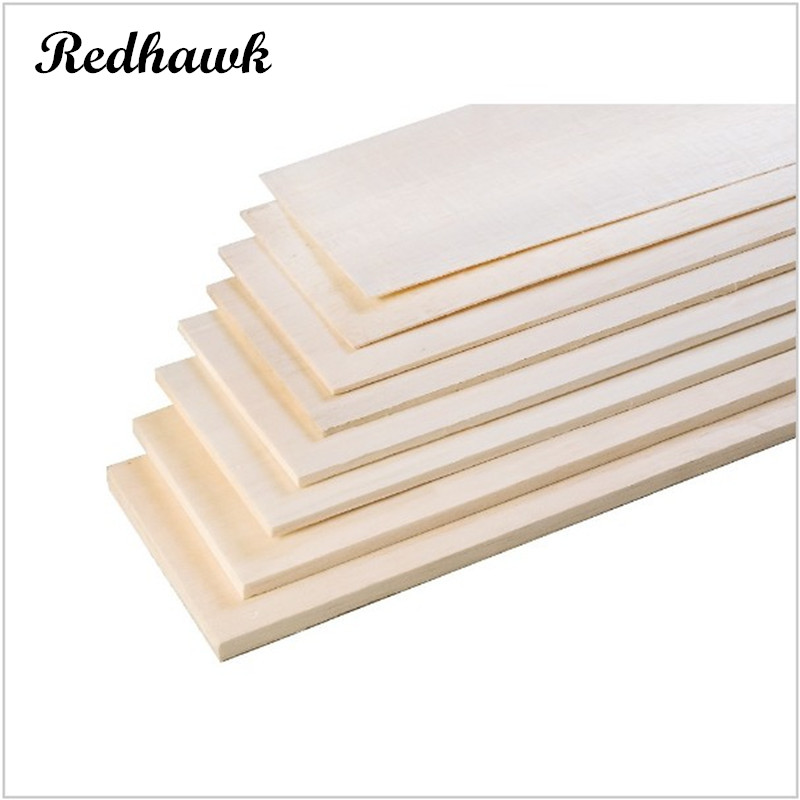 AAA+ Balsa Wood Sheet ply 500mm long 100mm wide 0.75/1/1.5/2/2.5/3/4/5/6/7/8/9/10mm thick for airplane/boat model DIY aaa balsa wood sheet ply 25 sheets 100x80x1mm model balsa wood can be used for military models etc smooth diy free shipping