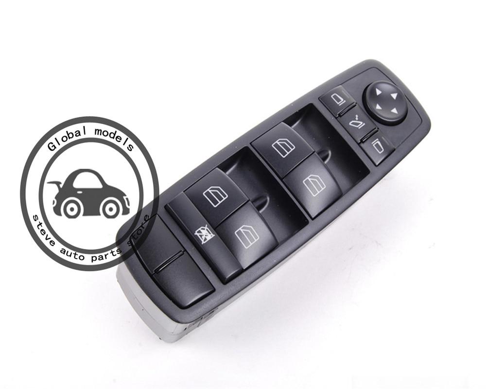 Electric Power Window Master Control Switch Assembly For Mercedes Benz X204 GLK200 GLK220 GLK250 GLK280 GLK300 GLK320 GLK350