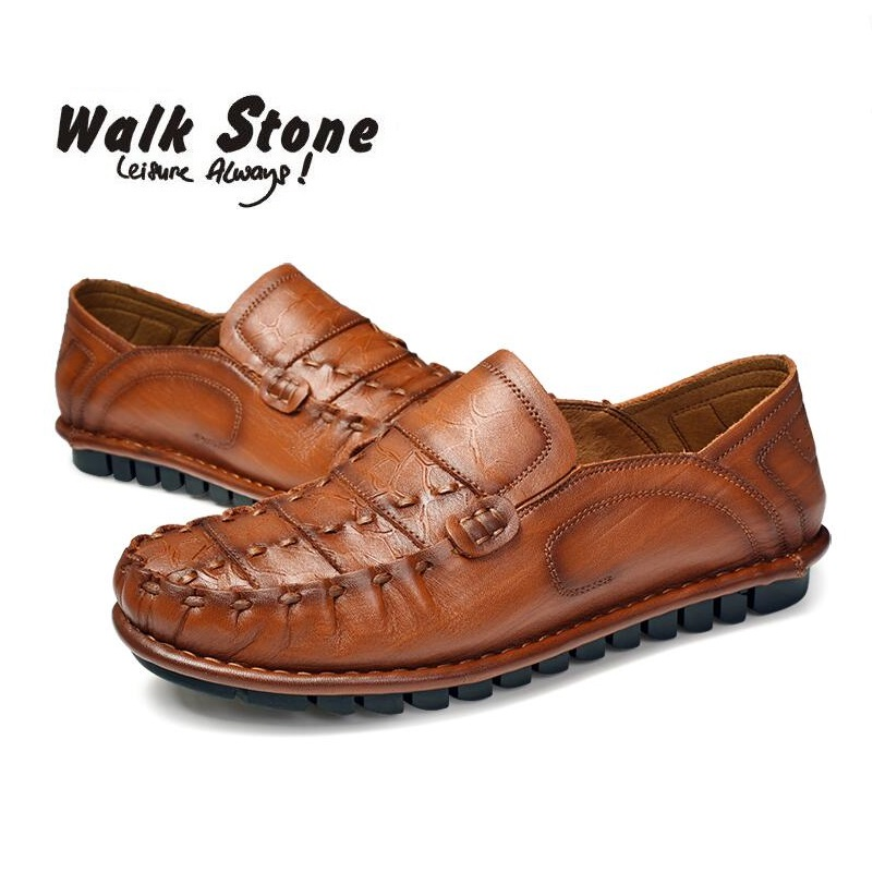 Handmade Summer Genuine Leather Brand Fashion Boat Shoes Men Casual Moccasins Mens Loafers Breathable Gommino Driving Black Lazy spring autumn men loafers genuine leather casual men shoes fashion driving shoes moccasins flats gommino male footwear rmc 320