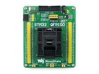 QFP100 LQFP100 QFP STM32F2 STM32F4 STM32 IC Test Socket Programming Adapter 0.5Pitch Free Shipping