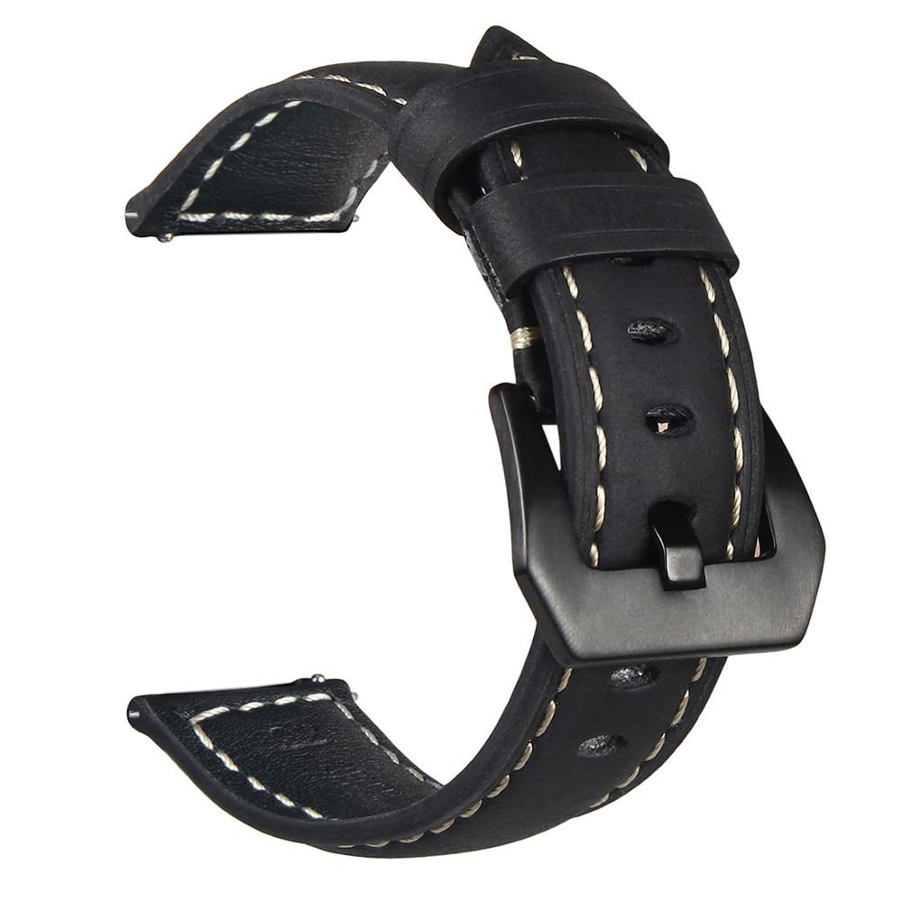 V-MORO 2018 New Watch Straps For Samsung Gear Sport Bands Genuine Leather 20MM Bracelet For Samsung Gear Sport SM-R600 Straps смарт часы samsung gear sport 4 гб чёрный