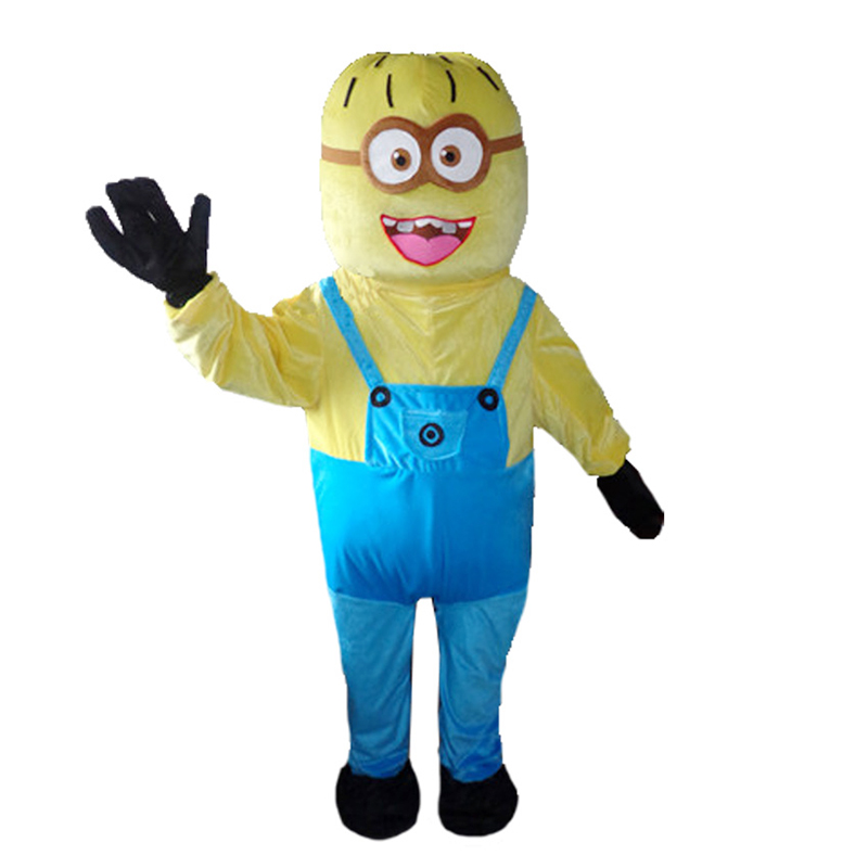 Nouveau adulte Minion Cosplay Costumes Halloween Anime mascotte Costumes dessin animé Cosplay mascotte Costume carnaval personnage Costumes