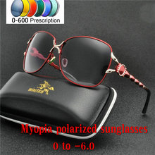 4be69e2a73e Fashion Women Round Colorful Polarized Mirror Reflective Sunglasses  Prescription Lenses Driving Customized Myopia Sunglasses NX(