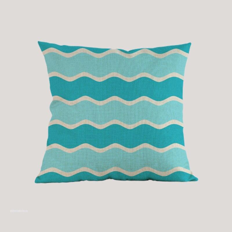 Океански вълни морски вълна - Домашен текстил - Снимка 5