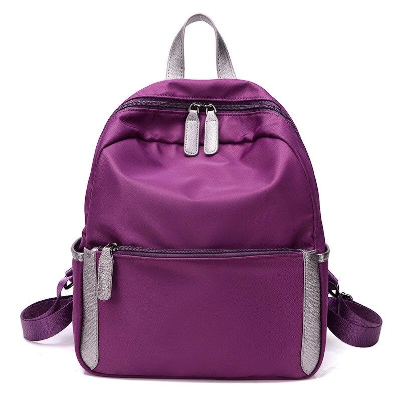 Korean Fashion Women Backpack 2018 Backpacks Oxford Waterproof Backpacks  Female College Girls Bags Ladies Black Backpack 9338804f2f