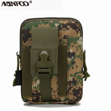 Outdoor Camouflage Tactical Military Hunting Molle Men's Waist Bag Fanny Pack Phone Pouch