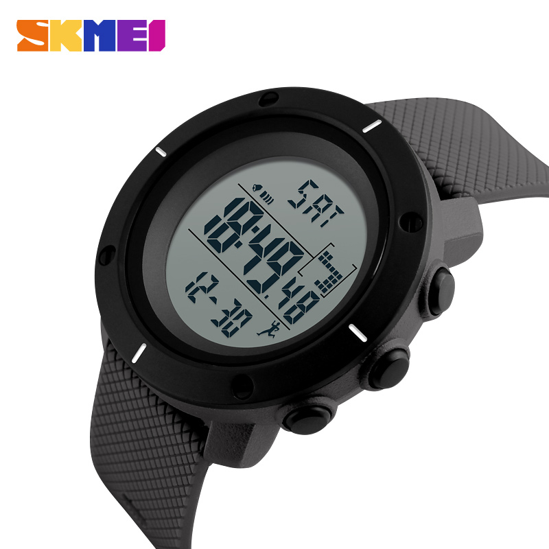 SKMEI Fashion Outdoor Sport Watch Men Calories 5Bar Waterproof Wristwatch Chrono Back Light Digital Watch reloj hombre 1215SKMEI Fashion Outdoor Sport Watch Men Calories 5Bar Waterproof Wristwatch Chrono Back Light Digital Watch reloj hombre 1215