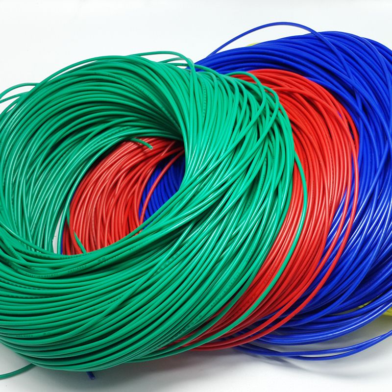 0.5*0.5mm electrical <font><b>wire</b></font> copper <font><b>core</b></font> <font><b>6</b></font> colors for option RVV image
