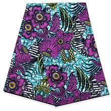 Dutch wax 100% cotton Ankara african fabrics printed pattern 2019 latest new designs