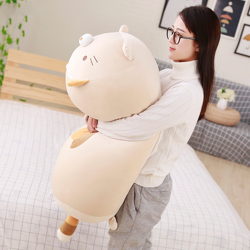 30CM 60cm 90cm Huge Size High Quality Japanese Animation Gurashi Super Soft Plush Toys San-X Corner Bio Cartoon Cute Baby Pillow