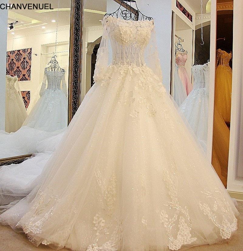 Real Retro Weddings: LS16022 Ball Gown Wedding Dress 2018 Vintage Wedding Dress