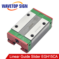 Free Shipping HIWIN Linear Guide Slider EGH15CA Use For Laser Machine use for Linear Rail CNC Diy Parts