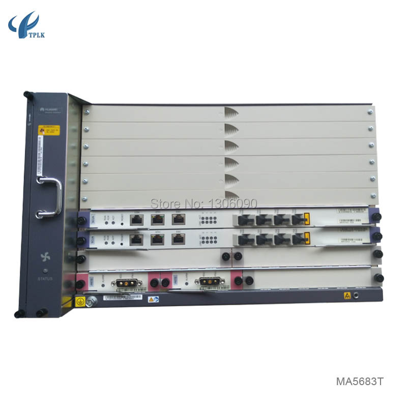 US $1507 0  Original Huawei MA5683T GPON or EPON OLT, Optical Line Terminal  GPON MA 5683t-in Fiber Optic Equipments from Cellphones &