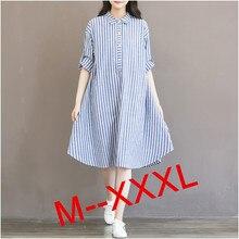 2016 font b Maternity b font Dresses Pregnant Dress Long Sleeve Stripe Pregnancy Blouses For Pregnant