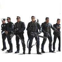 Neca The Terminator 2 Action Figure T 800 / T 1000 Pvc Action Figure Speelgoed Model Speelgoed 7 Soorten 18Cm