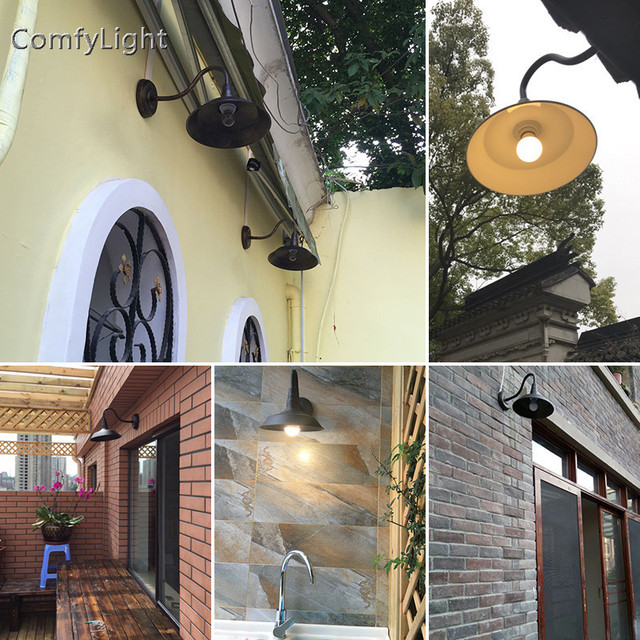 Vintage waterproof outdoor wall lamp villa lamp sconce retro home Decor Royal house/garden patio/courtyard/porch LED wall lights 3