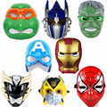 New Cartoon Masks Full Face PVDC Kids Game Cos Mask LED Eye Light Mask for Halloween Party Anime Transformers Spiderman Etc.