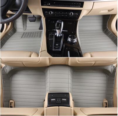 Meilleure qualité! Tapis de sol de voiture spécial personnalisé pour Ford Everest 7 sièges 2019 tapis imperméables pour Everest 2018-2016, livraison gratuite